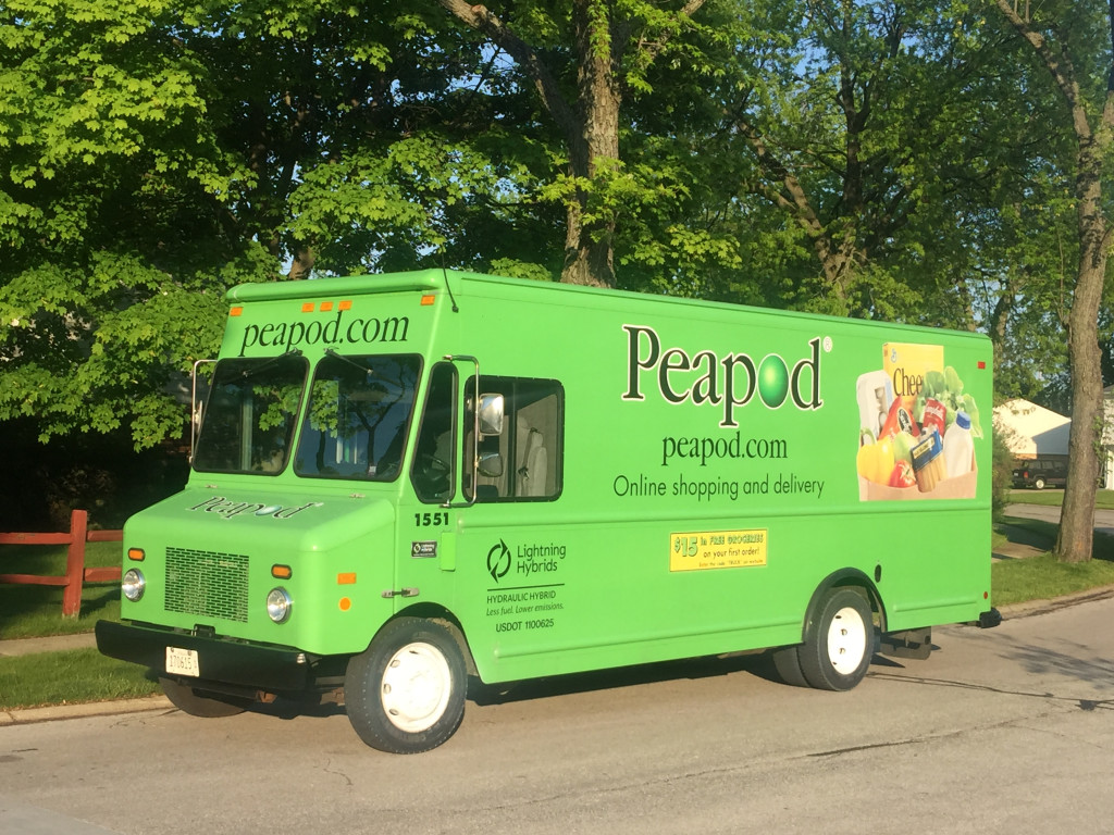 Peapod Takes Delivery of Hydraulic Hybrid Delivery Trucks That ...