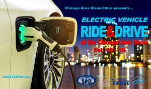 Chicago Auto Show Electric Vehicle Test Drives